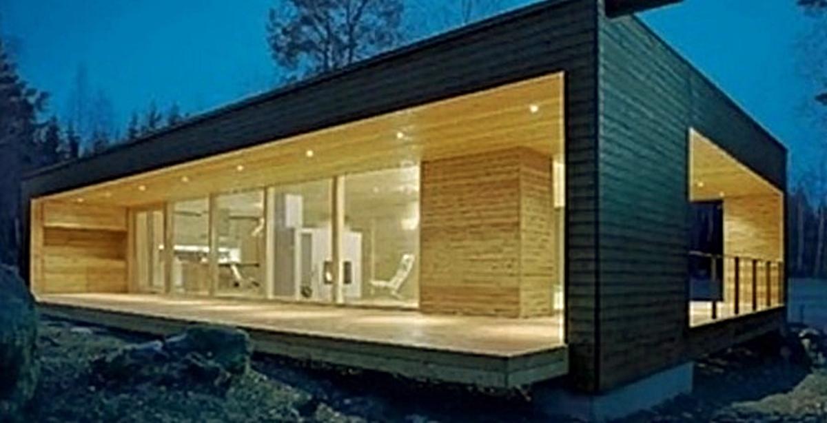 Cada vez hay más casas prefabricadas pequeñas y económicas