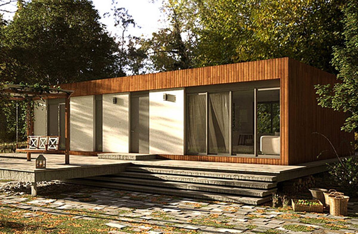 Los tipos de casas prefabricadas ofrecen distintas ventajas