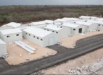 Conoce el hospital temporal hecho de multipanel instalado en Yucatán