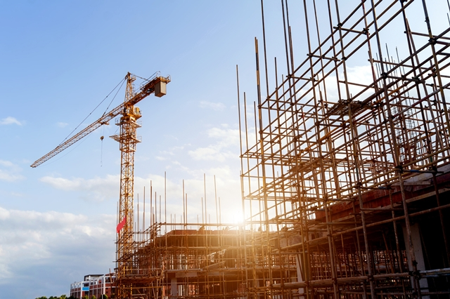 La baja en el sector de la construcción se debe a la parálisis económica