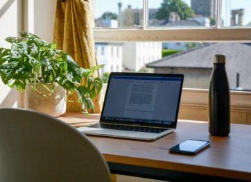 El espacio para Home Office es vital para el óptimo trabajo