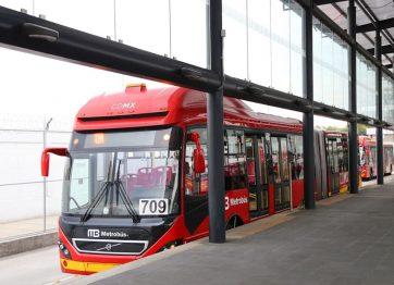 Las obras del Metrobús aumentan la oferta de transporte en la CDMX
